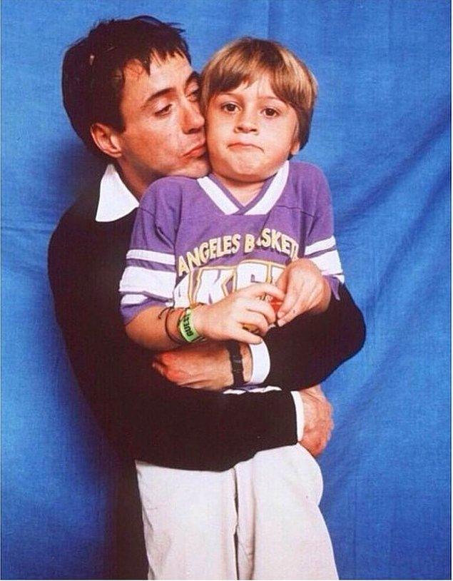 13. Robert Downey Jr. ve eşi Susan Downey'nin 3 çocuklarının ismi de birbirinden ilginç: Exton, Avri ve Indio.