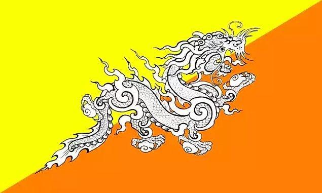 Misal, Butan'ın ulusal sembolü Gürleyen Ejderha bu efsanevi canlılar arasında en meşhurlarından.