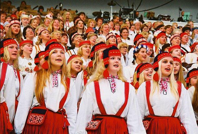 22. Estonya (Laulupidu)