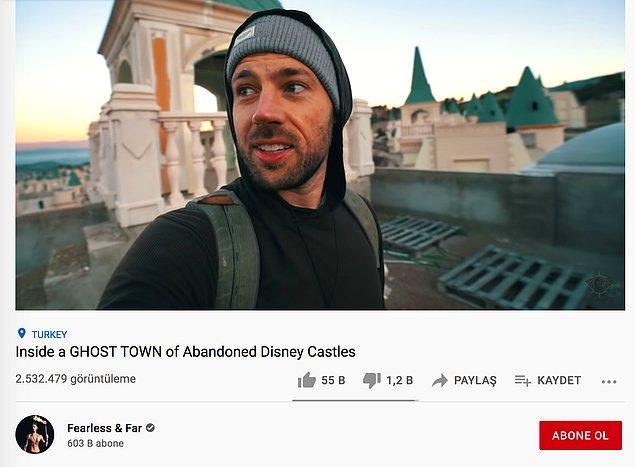 Ayrıca geçtiğimiz yıl Fearless & Far adlı bir YouTube kanalı bu terk edilmiş şatoların içine girdiği bir video yayınladı. Video şimdiye de 2.5 milyona yakın izlenme aldı.