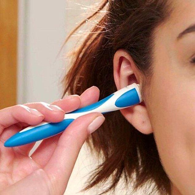 9. Etkili bir kulak temizliği için kulak temizleme cihazlarını tercih edebilirsiniz.