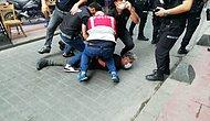 """Onur Yürüyüşü'nü Takip Eden AFP Foto Muhabiri Bülent Kılıç Gözaltına Alındı! """"Nefes Alamıyorum"""""""