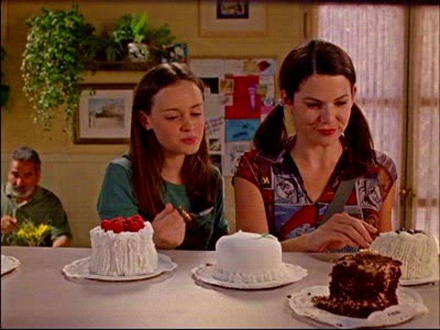 3. Önce pasta şeklini seç bakalım.