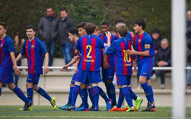 3. Barcelona FC, İspanya