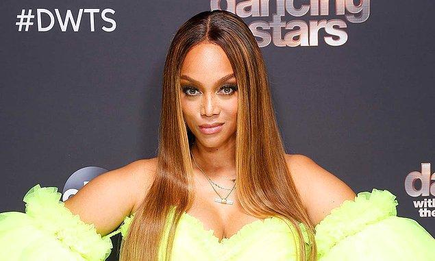 3. Dünyanın en ünlü modellerinden Tyra Banks tek bir şarkı çıkardı.