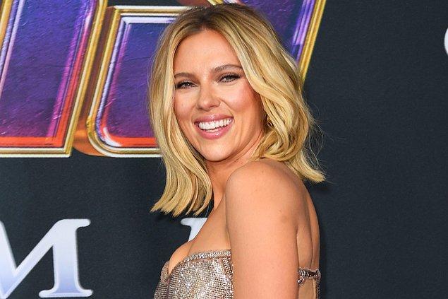 6. Scarlett Johansson'ın da çok az kişinin bildiği bir müzik kariyeri var.