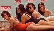 58-летняя Деми Мур показала нестареющее тело в рекламной съемке купальников со своими дочерьми