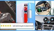 Sürekli Arabada Yaşayanlara Araç İçi Isıtıcı ve Vantilatör Gibi İşe Yarayacak 12 Araç İçi Aksesuar