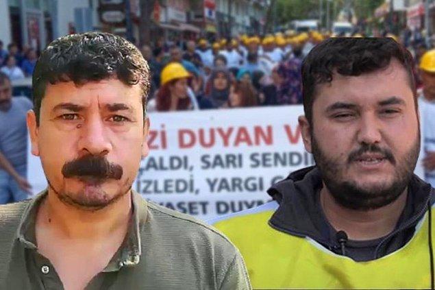 Bağımsız Maden İşçileri Sendikası Genel Başkanı Tahir Çetin ve Ali Faik İlter, tam 15 yıl boyunca sadece hakları olan kıdem, ihbar tazminatları ve ücret alacakları için mücadele ediyorlardı. Hayatlarını bir kenara bırakıp ailelerini yanlarına katıp oradan oraya ter akıtmışlardı.