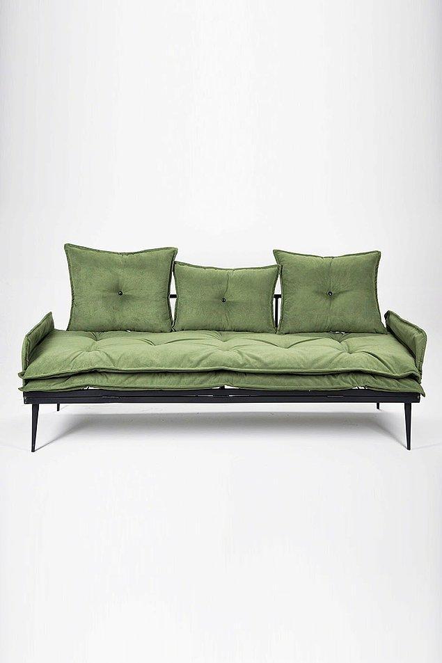 5. Yeşil koltuklar