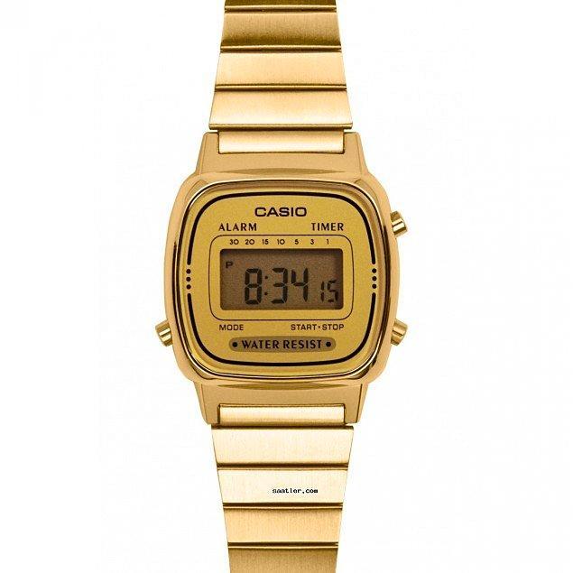 5. Dijital saat kullanmayı sevenler için en şık Casio saat modellerini bulduk!