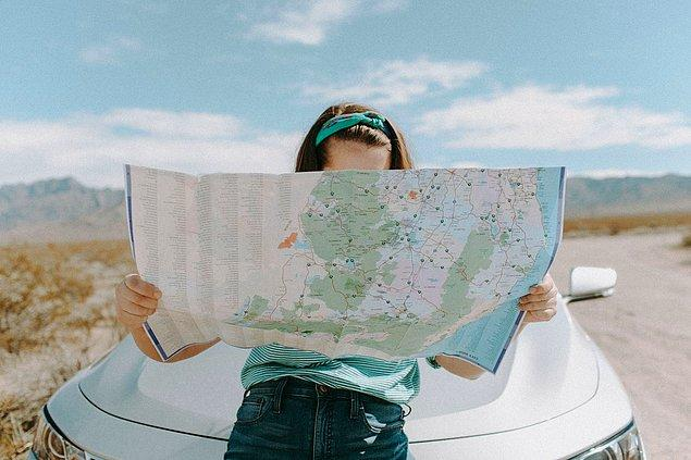 10. Harita için ne kullanacağınıza karar verin.