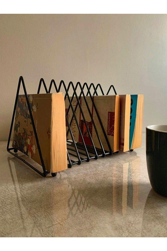 7. Her zaman yanınızda olması gereken kitaplarınız için de böyle şık bir kitaplık almak ister misiniz?