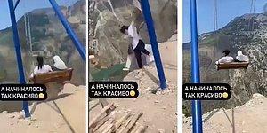 В Дагестане две женщины упали с качелей на краю пропасти высотой 1920 метров