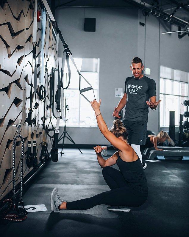 8. Pilates bantları Fizik Tedavi'de de kullanılıyor.
