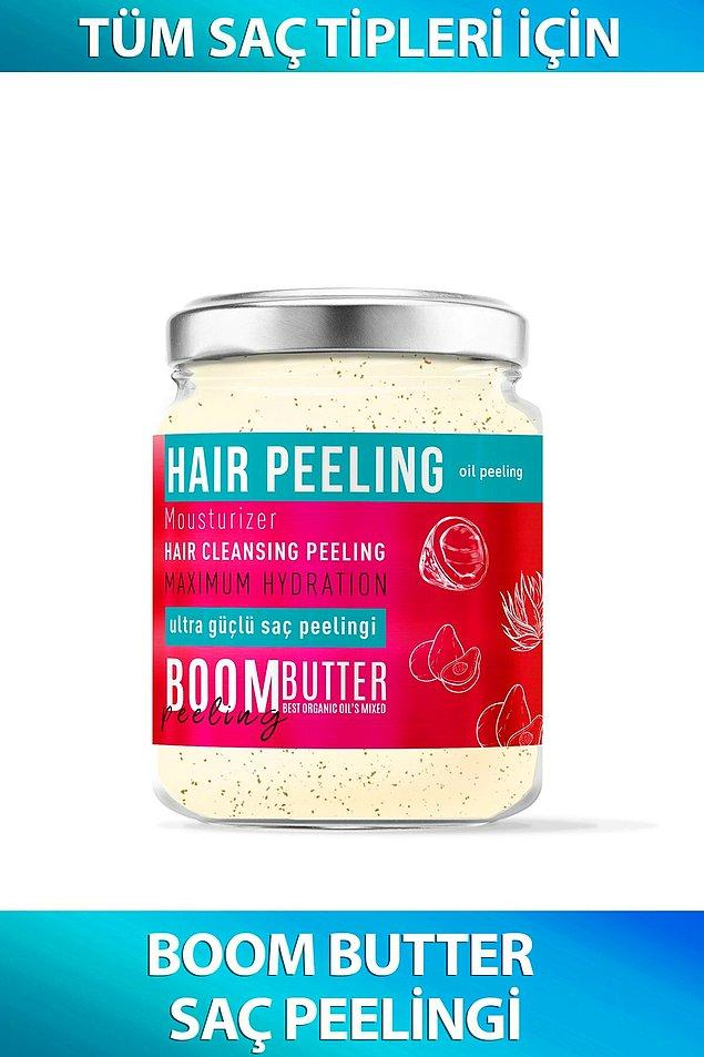 6. Güneşten yıpranan saçlarınıza kökten uca bakım yapmak için ihtiyacınız olan şey bir saç peelingi.