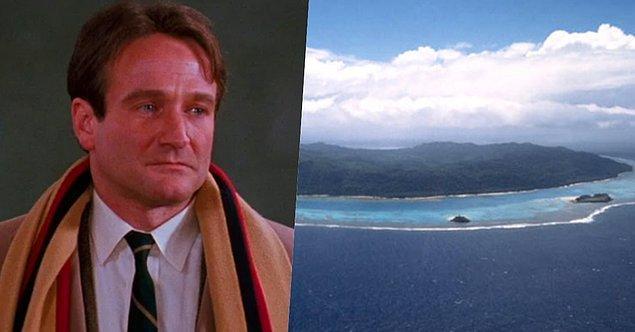 8. Hem oyunculuğu hem de kişiliğiyle akıllara kazanan isimlerden biri olmayı başarmış Robin Williams'ın Kanada'nın British Columbia bölgesinde bir adası varmış.