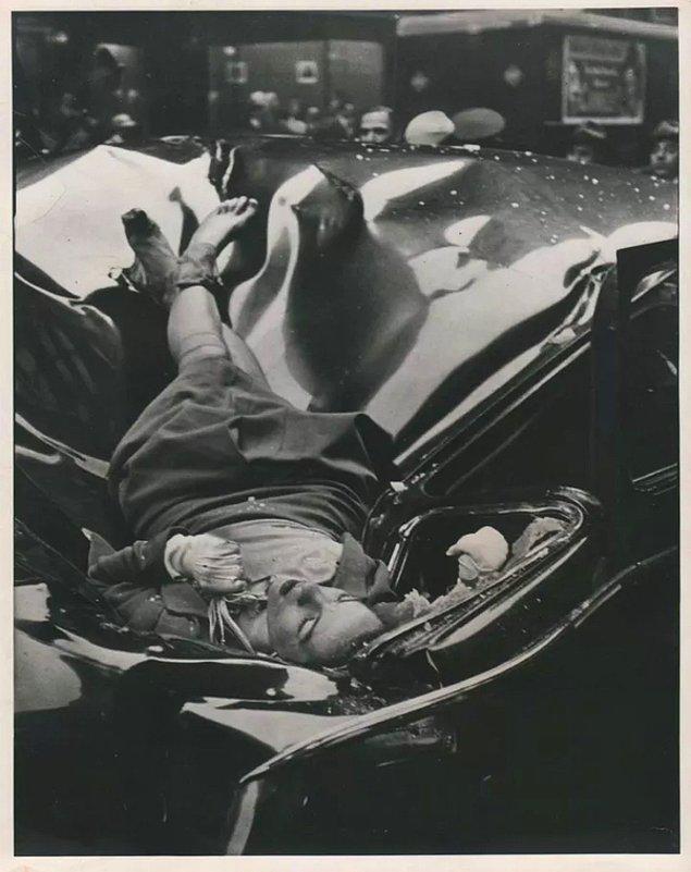 16. Evelyn McHale isimli Amerikalı kadın, 1947 yılında Empire State Binası'nın 86. katından aşağı atlayarak hayatına son verdi.