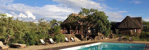 4. Campi Ya Kanzi Eco Lodge - Kenya