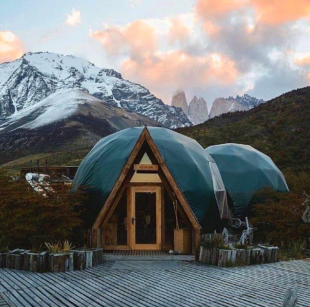 2. Ecocamp Patagonia - Şili