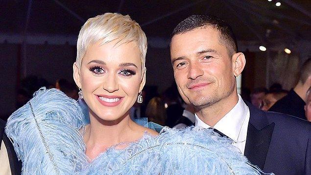 Orlando ise Katy Perry ile nişanlandı.