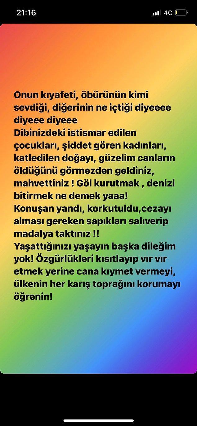 1. Ezgi Mola, Gülşen'in kıyafetine gelen eleştirilere şöyle bir tepki gösterdi: