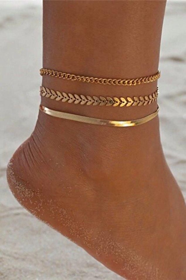 5. Tüm zamanları favorisi halhallar, bu yaz gold seçenekleri ile çok moda!