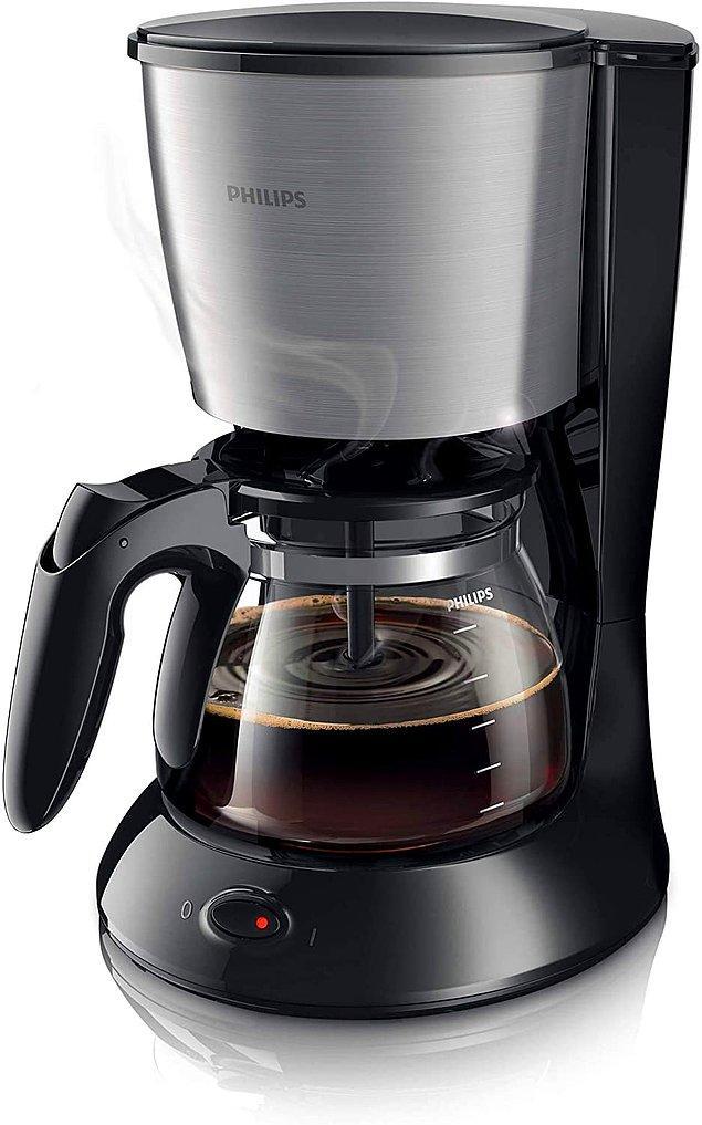 6. Philips küçük ev aletleri denince de akla ilk gelen filtre kahve makinesi.