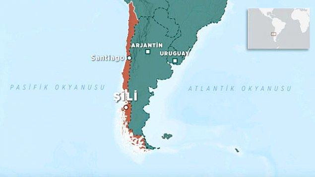 Güney Amerika ülkesi Şili, özgün coğrafi konumu ile dikkat çekiyor.