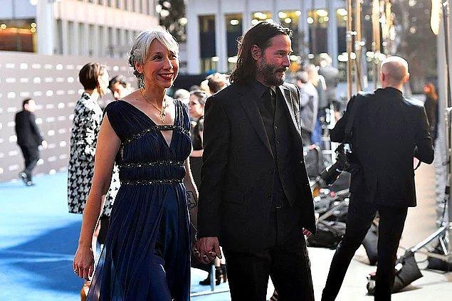 7. İki yıldır birlikte olan Keanu Reeves ve Alexandra Grant evlilik kararı aldı!😍