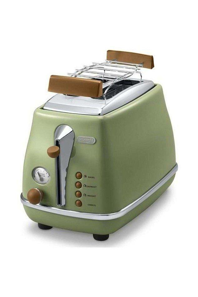 7. Delogni'den bahsetmişken aynı serinin ekmek kızartma makinelerini de es geçemeyeceğim.