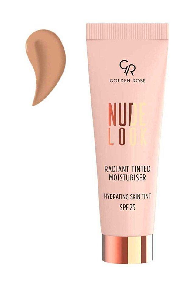 7. Özellikle yazın hep kullanmak isteyeceğiniz bir ürün: Golden Rose Renkli Nemlendirici