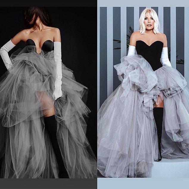 10. Ünlü değil, tasarım piştisi ama dünyaca ünlü modacı Vera Wang ile artık bu konuda ünlenen Gülşah Saraçoğlu'nun bu piştisi dikkatlerden kaçmadı.