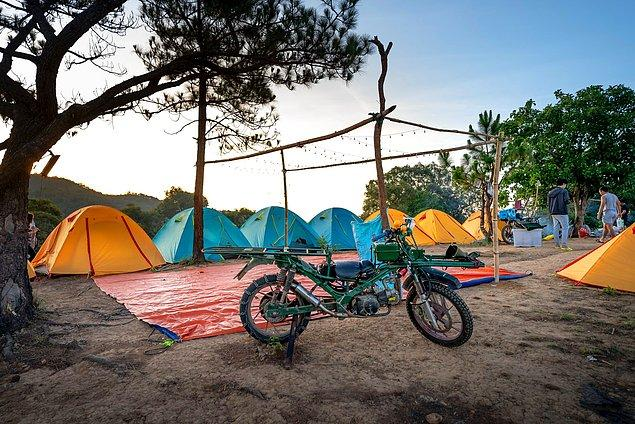 3. Arkadaş grubu ile güzel bir kamp yapmak