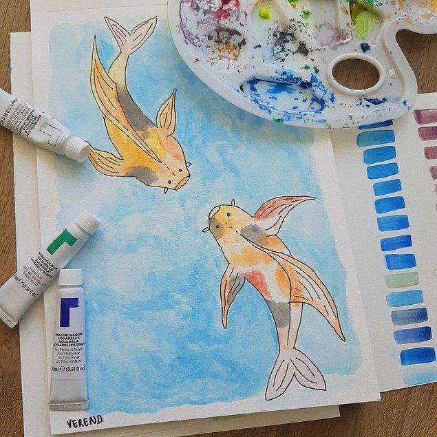8. Resim yapmaya başlamak