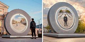 Как в фильме: Литва и Польша построили «портал», соединяющий их два города