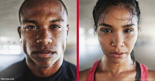 2. 'Kadınlar mı daha fazla terler yoksa erkekler mi?' sorusunun da cevabı burada...