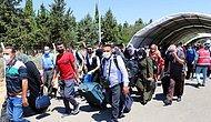 21 Bin 500 Suriyeli Bayram İçin Ülkesine Gitti