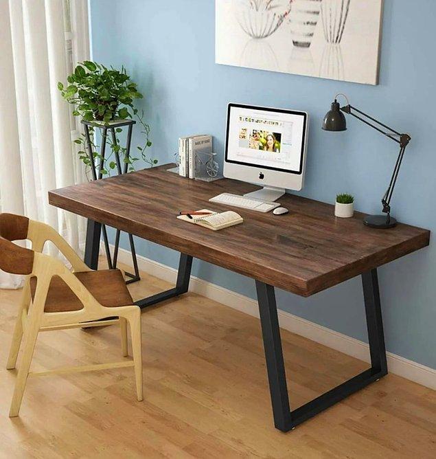 11. İyi bir çalışma masası, çalışma saatlerinizin verimini arttırmaya yardımcı olacaktır.