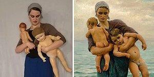 Девушка из Санкт-Петербурга каждый год воссоздает известные картины, и вот 15 лучших из них
