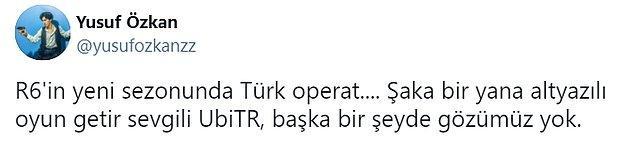 14. Diyelim Türk operatör göremedik ama Far Cry 6'yı Türkçe gördük, o da olumlu.