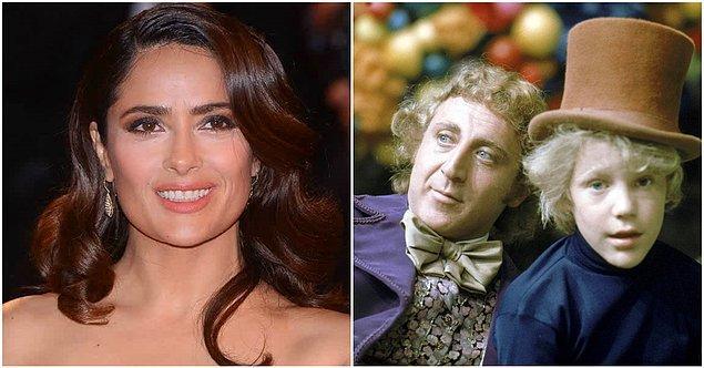 15. Salma Hayek - Willy Wonka & the Chocolate Factory (1971)