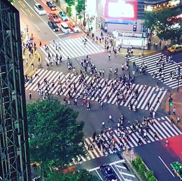 9. Japonya'da çapraz olarak geçebileceğiniz 300'den fazla dört yol ağzı var.