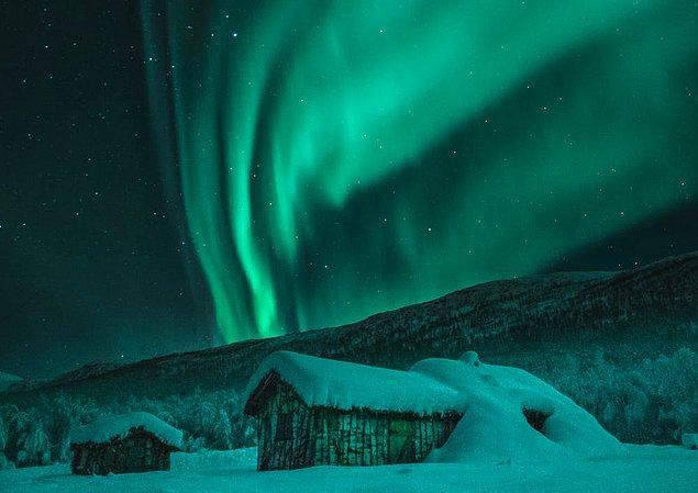 11. Kutup ışıkları sadece kışın olmaz tüm yıl boyunca devam eder.