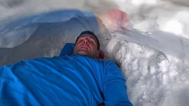 Ee, iglo biz ısıttıktan sonra erimeyecek mi?