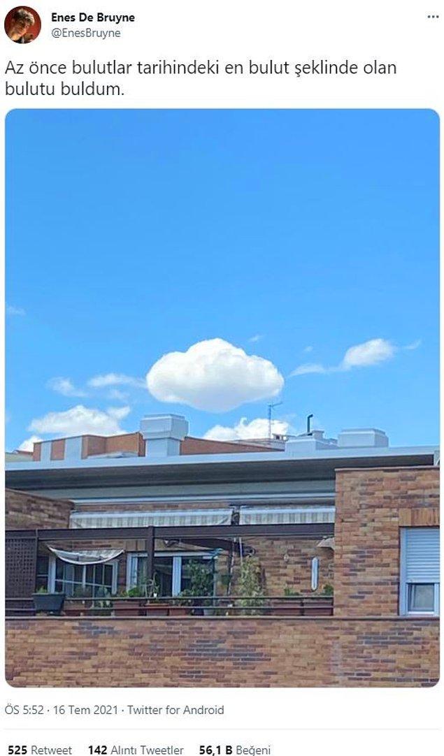 11. Resim derslerinde çizdiğimiz bulut.