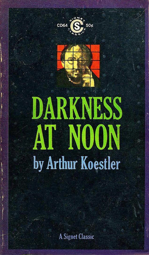 """10. Arthur Koestler'ın 1940'ta yazdığı kitabı """"Darkness at Noon""""un Almanca el yazması tarihin karanlığına gömüldü..."""