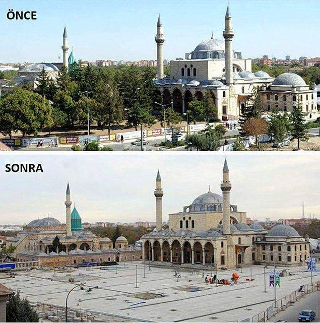 9. Sultan Selim Camii (1567) ve Mevlana Müzesi (13. yy.) - Konya