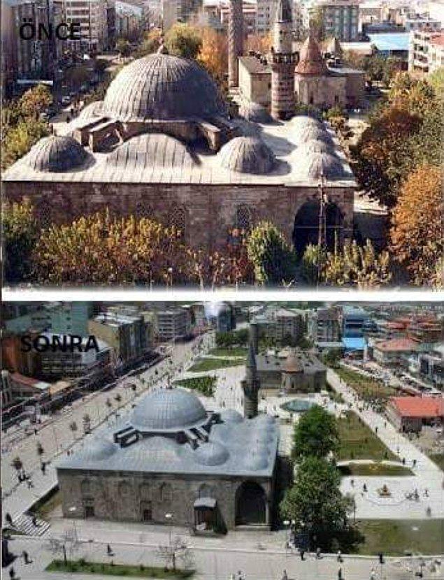 7. Lala Mustafa Paşa Camii (1563) - Erzurum