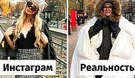 Женщина издевается над социальными сетями и показывает, что скрывается за идеальными фотографиями в Instagram (20 фото)